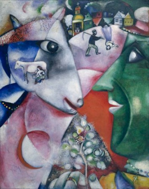 marc-chagall-oil-pastel-painting
